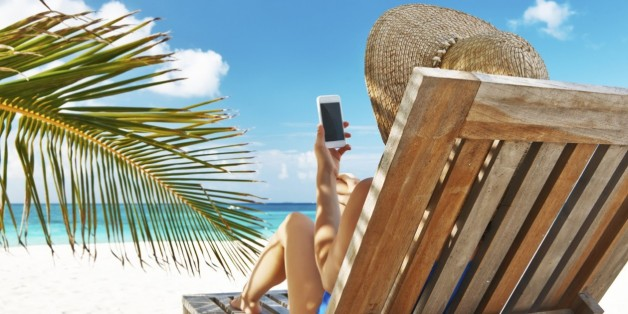 Mobile Phone on Vacation