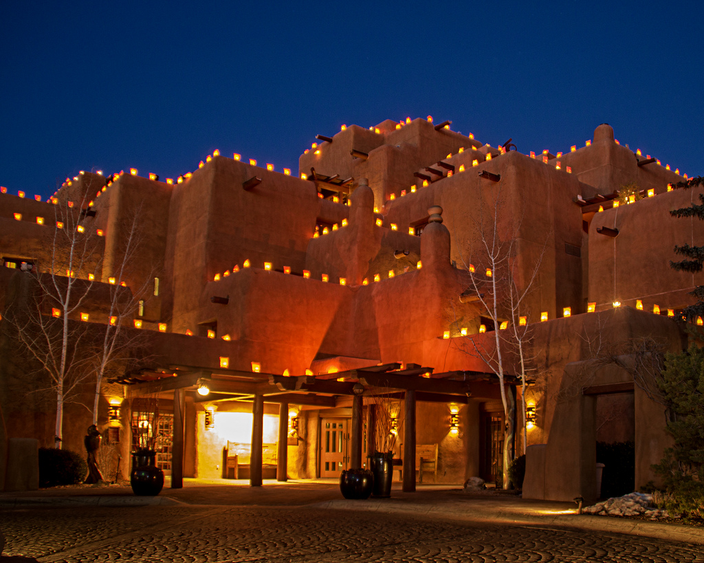 Inn and Spa at Loretto Luminarias