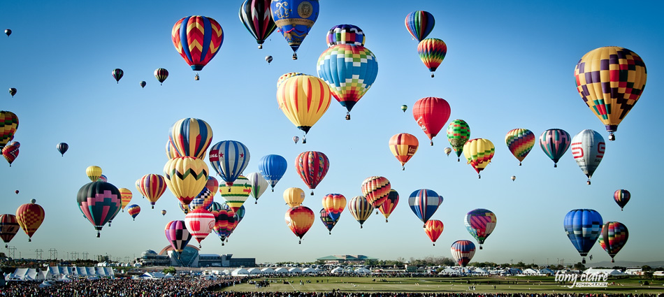 NM - Albuquerque Balloon Festival, Tony Claire Photography