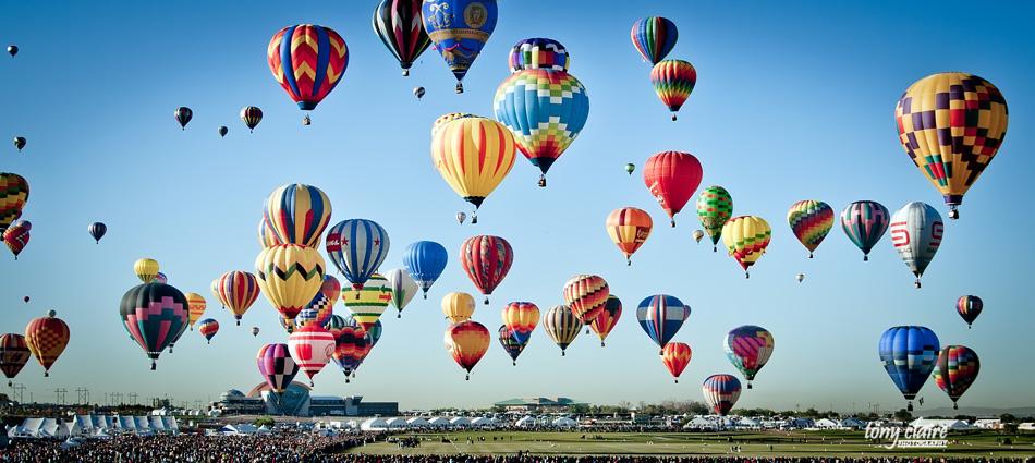 NM - Albuquerque Balloon Festival, Tony Claire Photography