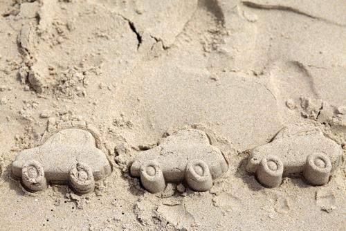 Cars at the Beach