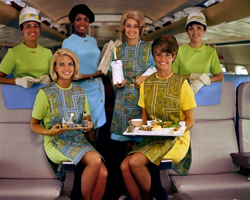 1969-70 summer uniform. Six F/A Group