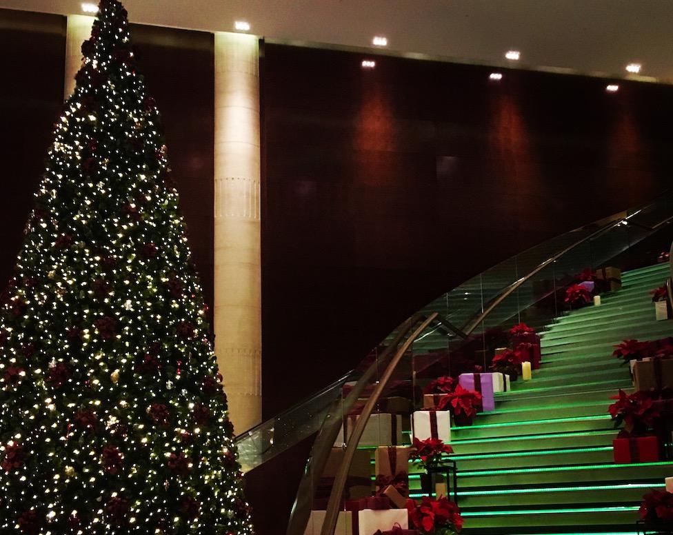 Christmas at the Kuala Lumpur Hyatt